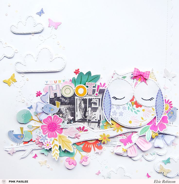 Turn your doodles into fun embellishments for your scrapbook pages!