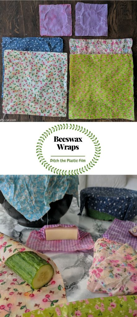 Learn to make your very own beeswax wraps using only 2 ingredients. It is an easy and effective way to ditch plastic film