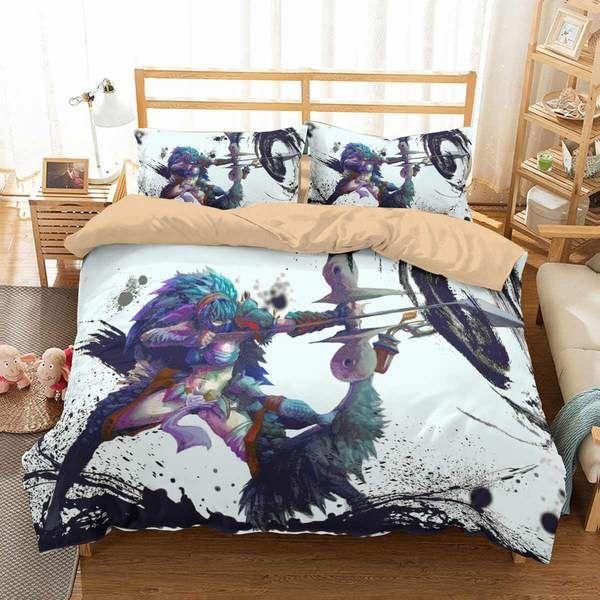 3d Customize Monster Hunter World Bedding Set Duvet Cover Set Bedroom Set Bedlinen Duvet Covers Bedroom Sets Duvet Cover Sets