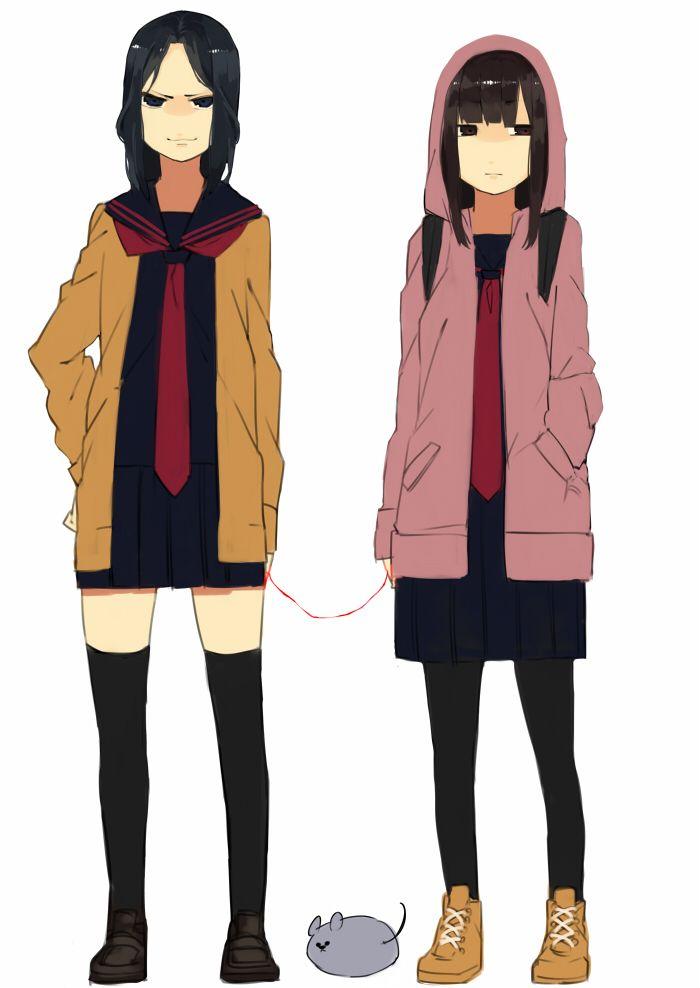 Tyaka  | Tags: Anime, Tyaka, Majisuka Gakuen, Center, Nezumi (Majisuka Gakuen ...