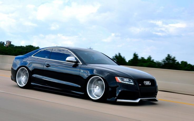 Grand Slammed Audi. I'm a fan of lowered cars, but this is crazy. Can you imagine driving this? http://www.KeyesAudi.com