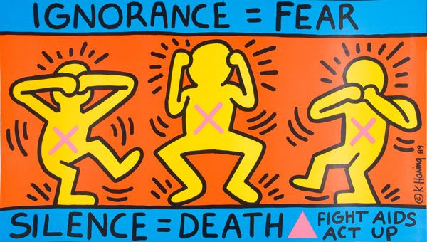 Ignorance=Fear | 31 Years Of HIV And AIDS Awareness Posters