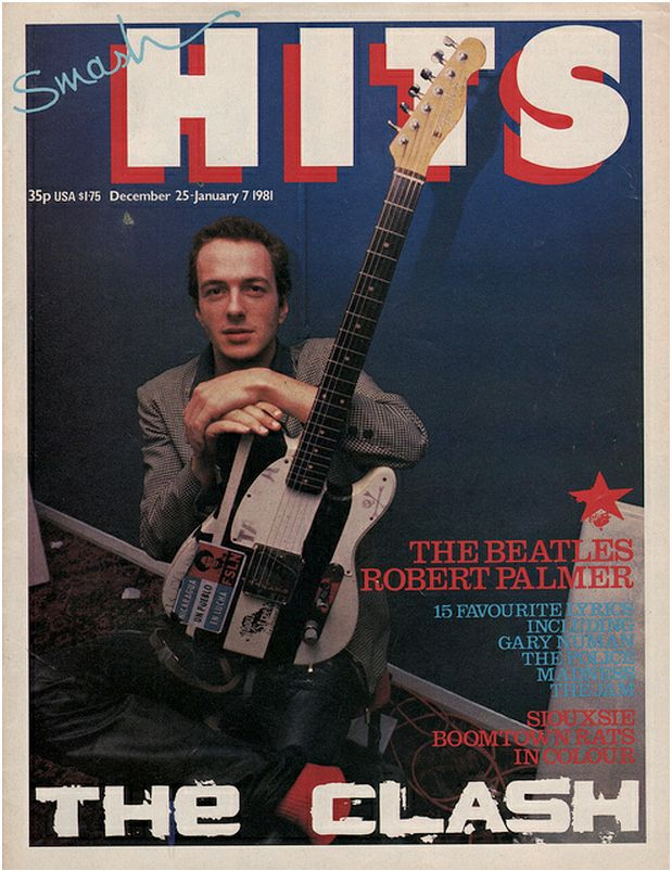 Smash Hits classic covers, The Clash