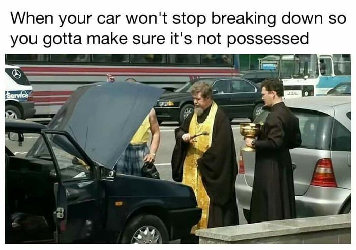 Get Out Of My Car Demons Funny Memes Funny Pictures Memes