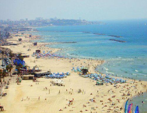 Vita da spiaggia a Tel Aviv