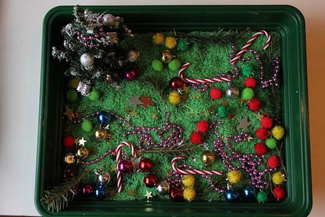 The Imagination Tree: Christmas Sensory Tub