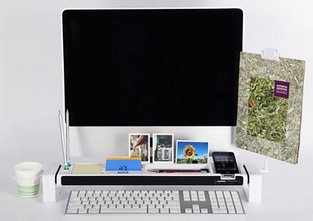 Купить Satechi iDesk (B005OEN6QC) - органайзер для рабочего стола (White) в Москве по низкой цене, инструкция и отзывы | магазин iCover