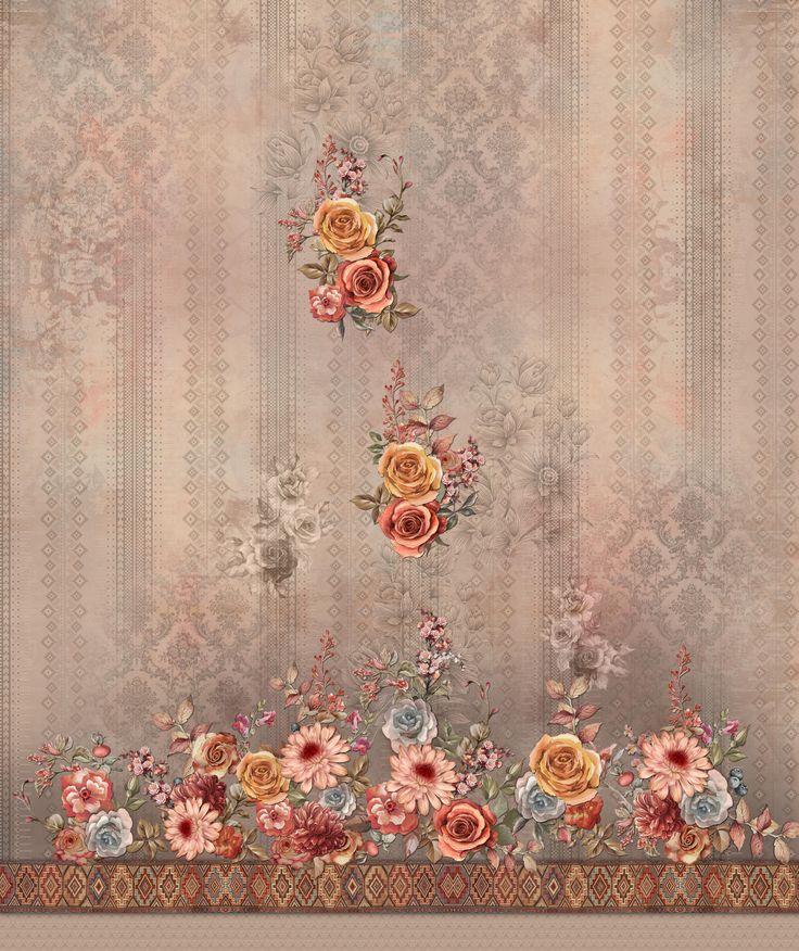 Soft Paisley Background
