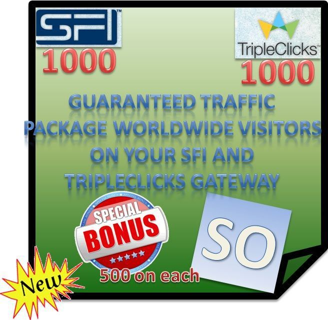 "We help you grow your business stronger, with ""Strong Team Builders"" SFI/TripleClicks!"