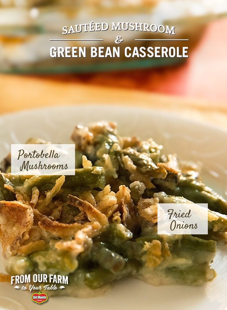 men s clothing online Saut  ed Mushroom and Green Bean Casserole   Add a simple twist to your Green Bean Casserole this Thanksgiving  The Reichert family from Wisconsin shares their take on a classic holiday side  With green beans  fried onions  and mushrooms  this timeless dish will send your taste buds down memory lane