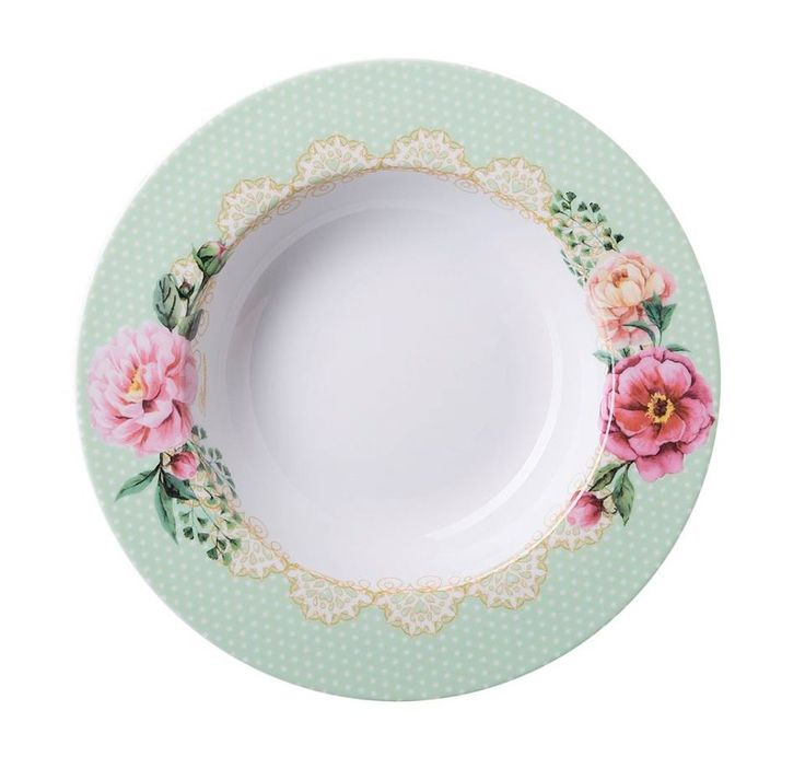 """Romantic Doily"" 2017 Blumarine Home Collection - soup plate.  Discover the new collection at Salone del Mobile, Milan.  Info: blumarinehome@arnolfodicambio.com  Salone del Mobile - Fiera Milano Rho"