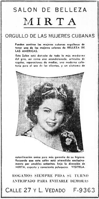Orgullo de las mujeres Cubanas (Mirta de Perales) http://www.facebook.com/mirtadeperalesinc