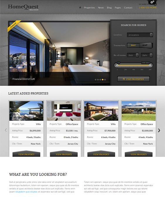This WordPress real estate theme has a powerful property search and filter module, built-in SEO features, Font-face custom fonts, Javascript enabled tabs, dynamic sidebar widget creation, a jQuery image/video lightbox, and more.
