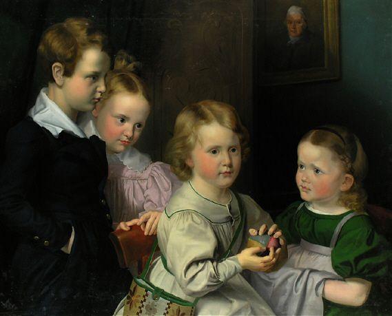 File:Karl Joseph Begas Kinder der Familie Simrock.jpg: