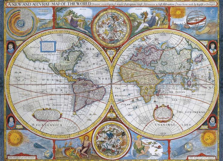 84 best jigsaw puzzle hobby images on pinterest puzzles puzzle eurographics antique world map jigsaw puzzle 1000 pc 2006 gumiabroncs Choice Image