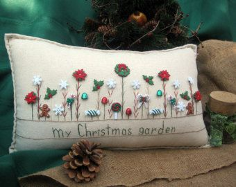 Hanging Pillow: The Stockings Were Hung By the by PillowCottage