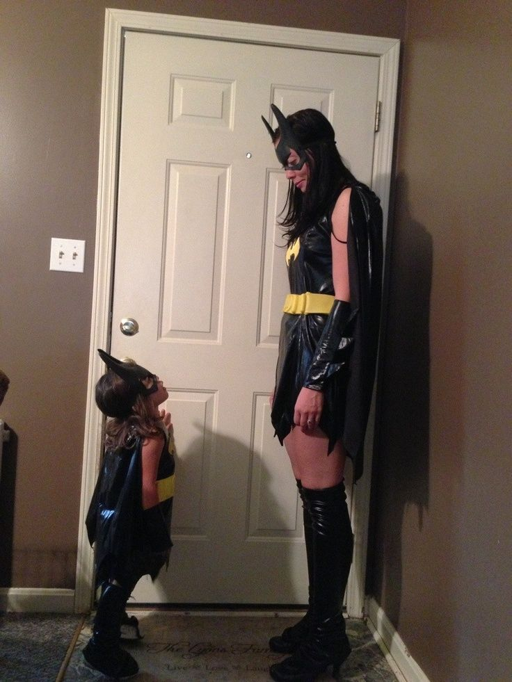 bat girl costume mother daughter - Google Search ...