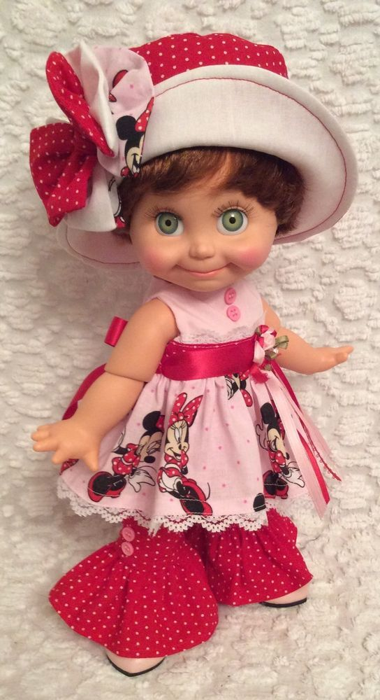 ~Cute Set For Your Galoob Baby Face Doll~Minnie In Pink~
