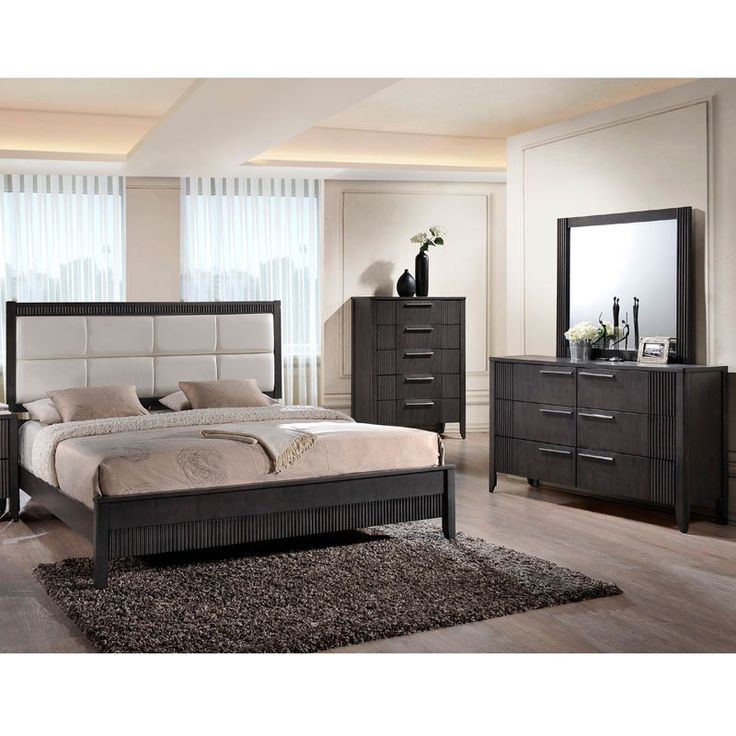 High Quality Belair King Bedroom Set With LED TV From Gardner White Furniture