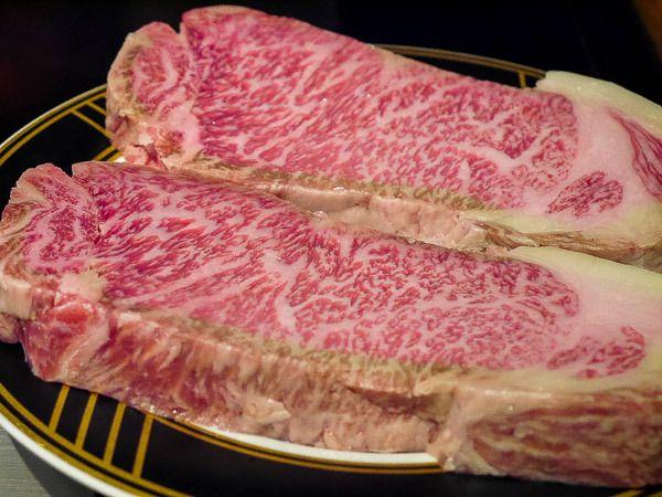 「鉄板焼ステーキ 琉」の黒毛和牛サーロインステーキ(沖縄本島)
