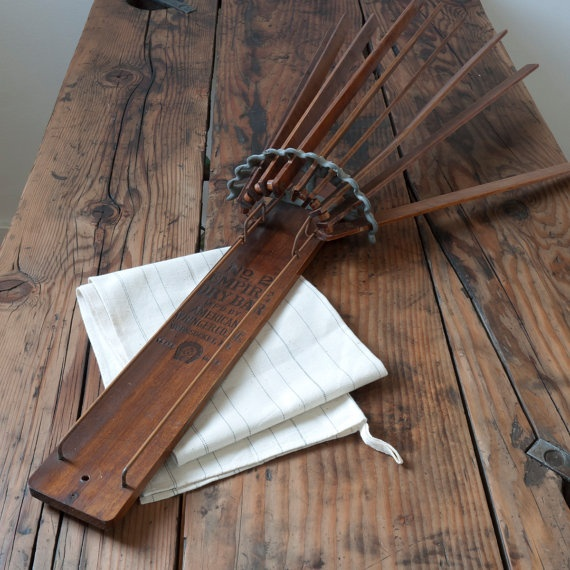 Antique Wooden Drying Rack Got To Try Doing This One