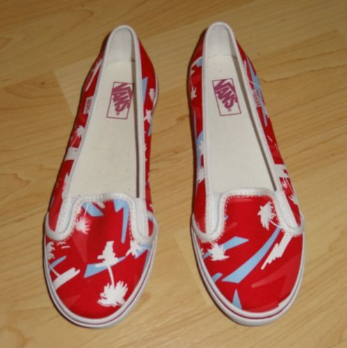 VANS Ballerina Schuhe KVD Tango 80s Tree Graphic red true white