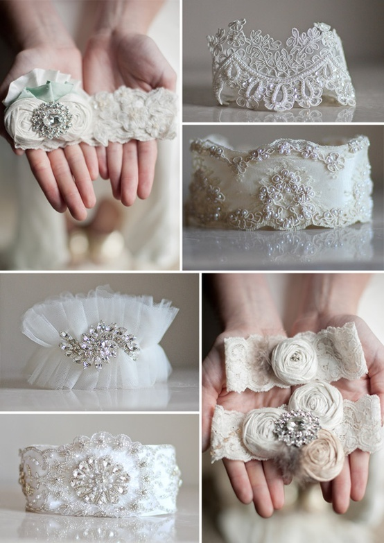 17 best images about garters to make on pinterest for Garter under wedding dress