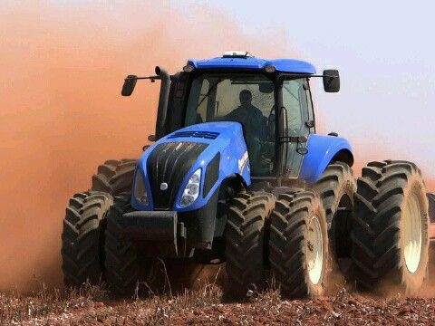 Wicked New Holland tractor