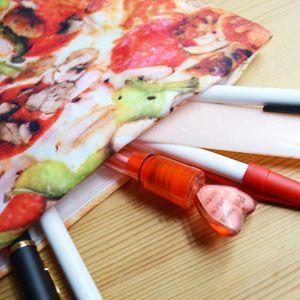 【楽天市場】ピザの小物入れ 【ヤミーポケットシリーズ ピザポーチ 筆入れ 筆箱 小物入れ 服飾雑貨 アクセサリー 雑貨 MoMA】:アントデザインストア