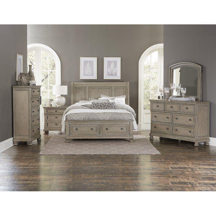 Carleton Sleigh Configurable Bedroom Set Wayfair Really Like In 2020 Wood Bedroom Sets Bedroom Sets Queen Platform Bedroom Sets