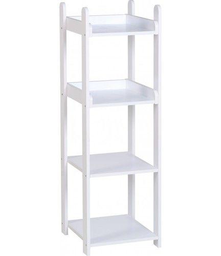 Lollipop 4 drawer Shelf, white 4 drawer shelf, kids 4 drawer shelf, 4 Drawer shelf unit, lollipop furniture, shelf unit, cork furniture, irish furniture, dublin furniture