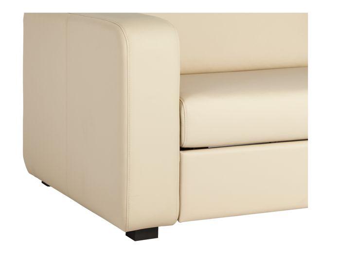 PORTO 3 3-Sitzer-Schlafsofa aus Leder