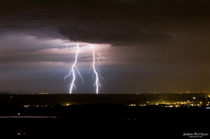 KERAUNOS - Prévision des orages pour demain et après-demain sur la France - Alerte aux orages
