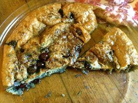 the preppy paleo: Paleo Blueberry Breakfast Clafouti #whole30 - egg, blueberry, coconut milk