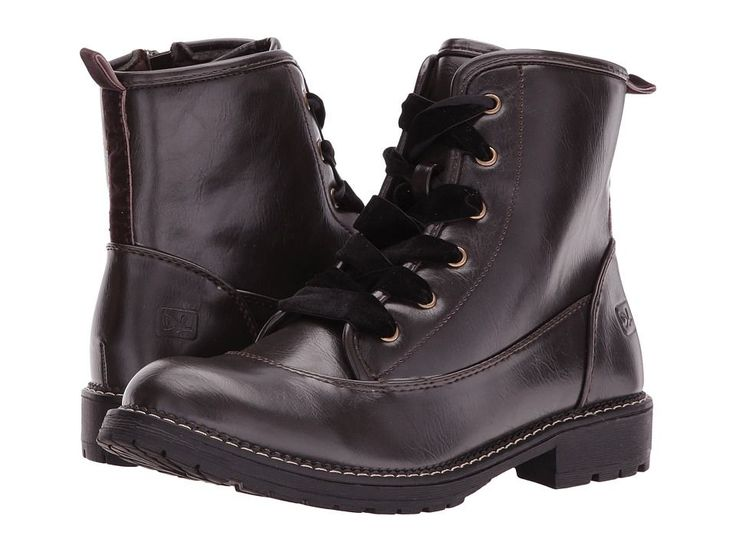 Dirty Laundry Rosario Smooth Women's Lace-up Boots Espresso