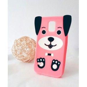 Etui obudowa PIESEK do Samsung Galaxy S5 Neo | gumowe Dog Pies