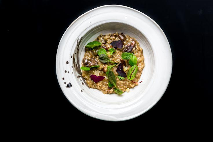 Grzybowe risotto/ Mushroom risotto