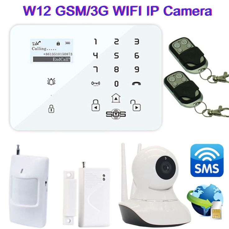 155.33$  Buy now - http://ali6ls.worldwells.pw/go.php?t=32670149331 - Wifi IP Camera Android IOS APP Wireless GSM/3G Home Alarm System Smart GSM Camera Burglar Security SMS Alarm Remote Monitor W12F