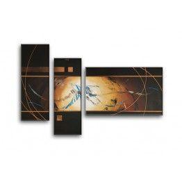 Tableau Peinture Envol autour de Jupiter