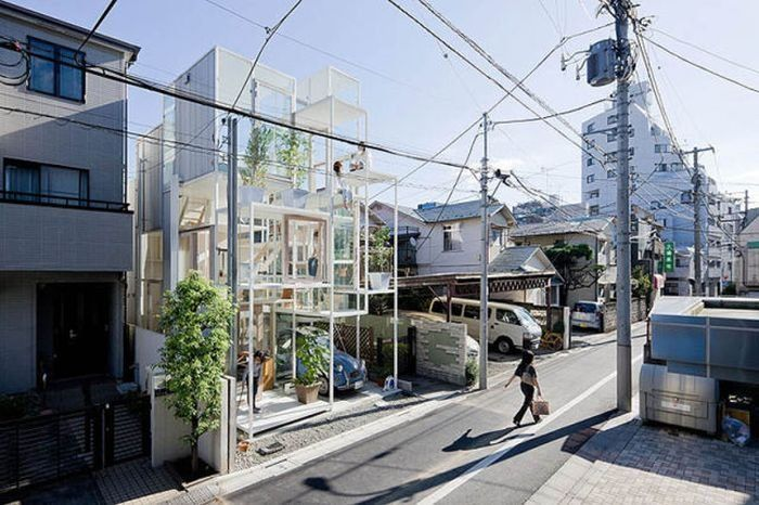 transparent house Japan
