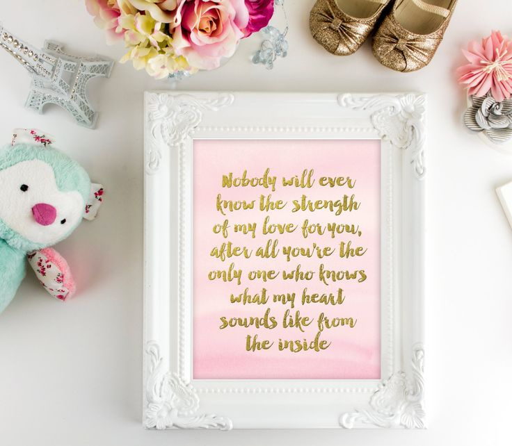 Nursery Wall Art   Baby Printable Quote   Printable Art   Heartbeat Quote   8x10   Nursery Wall Decor   Kids Wall Art   Kids Wall Print by SmudgeCreativeDesign on Etsy