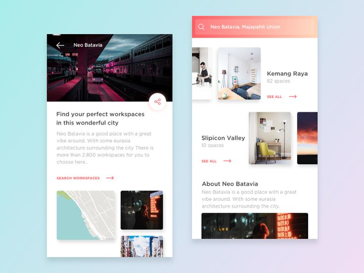 Exploration - Workspaces Listing App by Dimas Wibowo