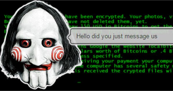 Now #ransomware criminals demand money via live chat