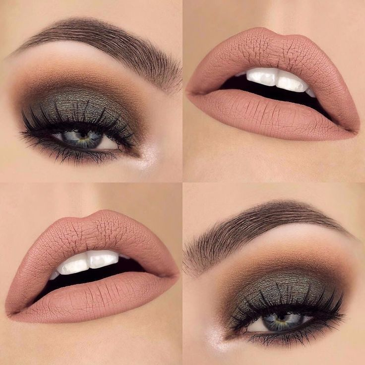 "Beautiful look @makeupthang BROWS: #BrowWiz in Dark Brown EYES: Urban Decay Gwen Stefani palette ""zone"" and ""punk. Mac Cosmetics shadow in ""club"" LIPS: ABH Pure Hollywood liquid lipstick combined with @jeffreestarcosmetics Velour liquid lipstick ""Im Nude"" #anastasiabeverlyhills"