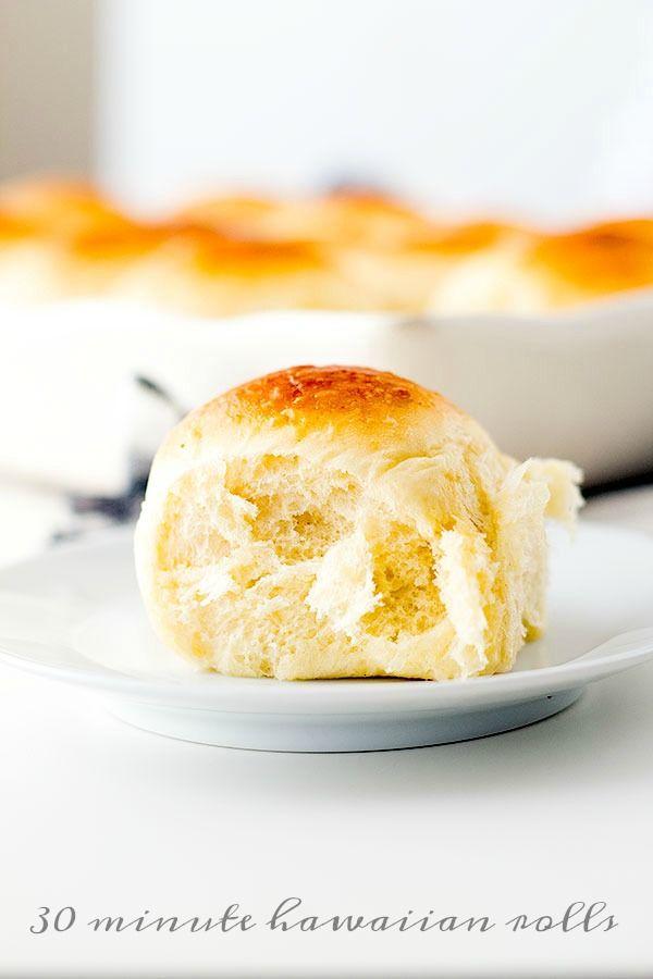30 minute hawaiian sweet rolls