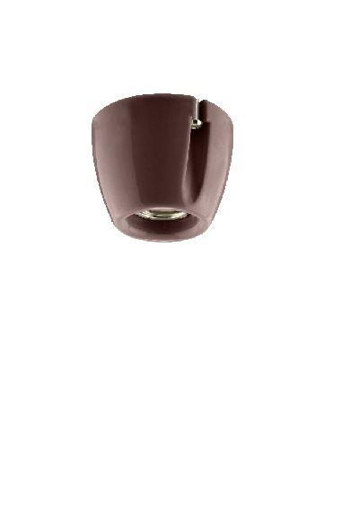 Basic brown IP20 straight E27 75W