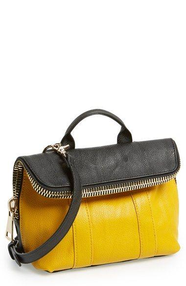 POVERTY FLATS by rian Super Zip Top Foldover Crossbody Bag