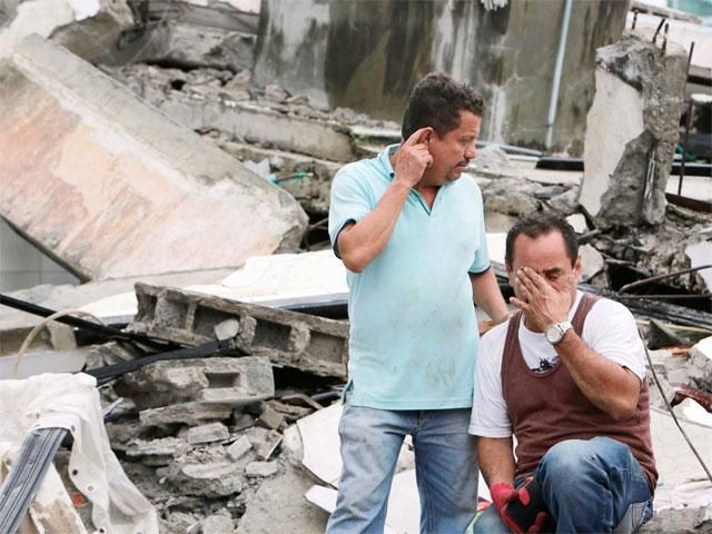 Slideshow : Ecuador devastated by massive 7.8 magnitude earthquake - Ecuador devastated by massive 7.8 magnitude earthquake - The Economic Times