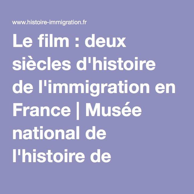 Le film : deux siècles d'histoire de l'immigration en France | Musée national de l'histoire de l'immigration