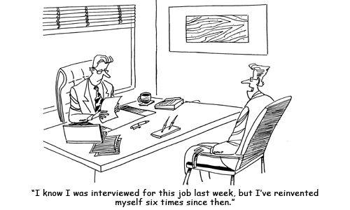 job interview funny